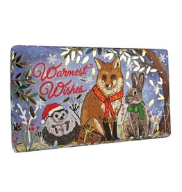 The English Soap Company Warmest Wishes Christmas Soap