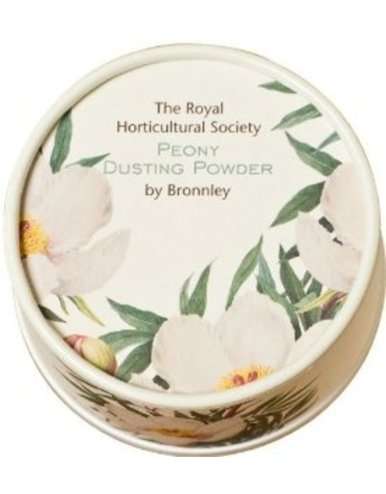 Bronnley  Royal Horticultural Society Peony Dusting Powder - Bronnley