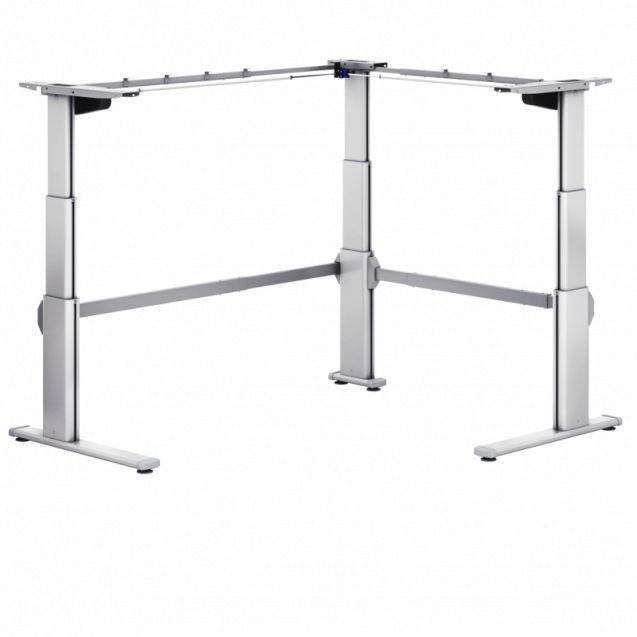 Zit Sta Bureau Tafel Pro 251 M (Elektrisch) hoek opstelling