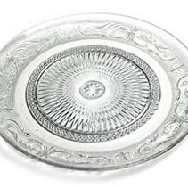 Finn Glass Plate Clear D22.5H2