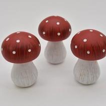 wb. 3 mushrooms red 7,5cm
