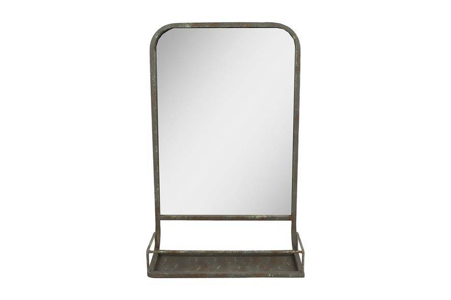 Lange Spiegel Kopen : Spiegel metaal met rekje cm kopen teeninga palms