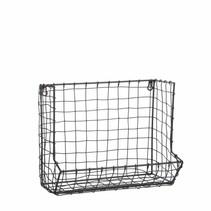 Wandrek grijs - l35xb21xh30cm
