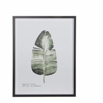 Muurhanger B blad groen - l45xb57cm