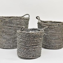 Around Basket Zeegras Big Grey S3 D20/30H18/26cm