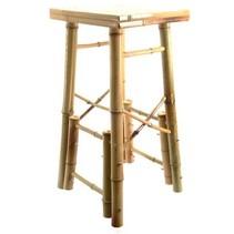 kruk bamboe naturel 38x34x73cm
