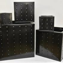 Set 5 zink kubus zwart ReBu