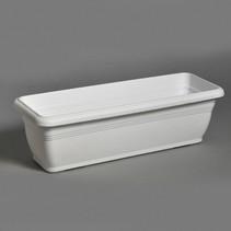 Linea Balcony Box Basic White L59W22H18 cm