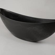 Boot schaal grijs 66x16,5x21cm