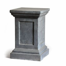 Clayfibre Column M AuthGrey W31H47 cm