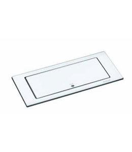 Evoline BackFlip Glass top (2x230V)(1x USB) Wit