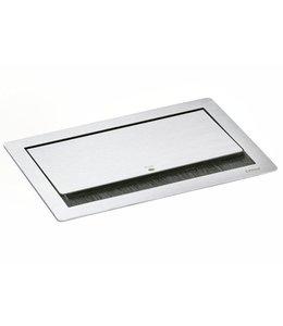 Evoline Fliptop RVS Push (3x230V)(1x HDMI)(2xUSB lader)