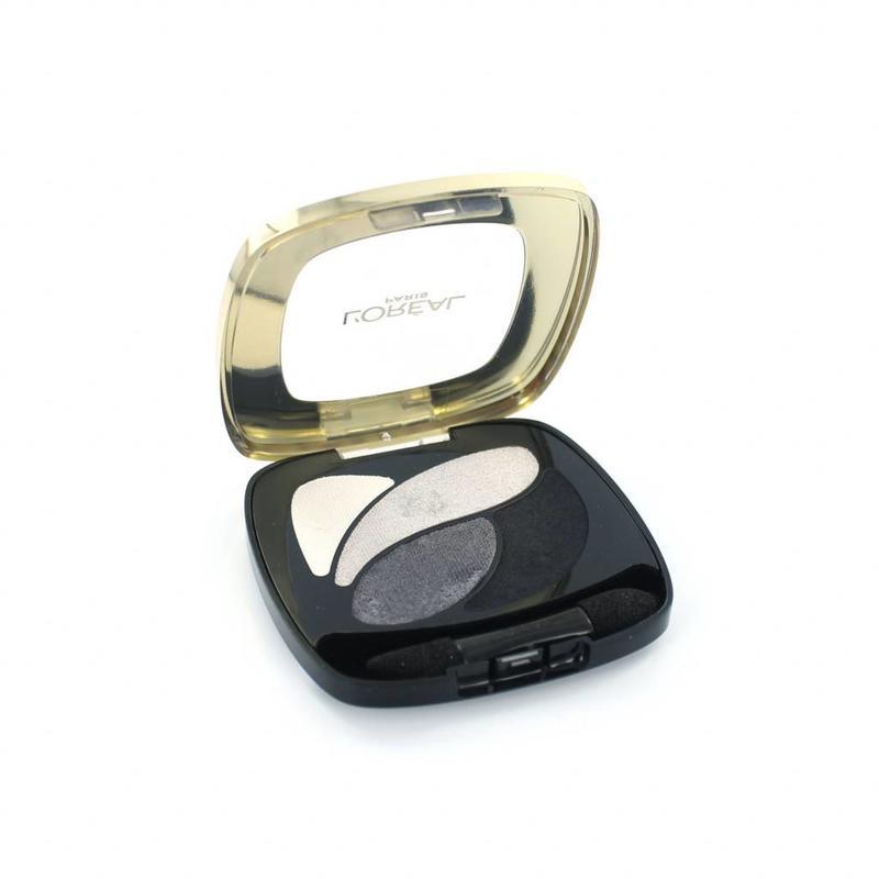 L'Oréal Color Riche Quad Oogschaduw - E5 Velours Noir