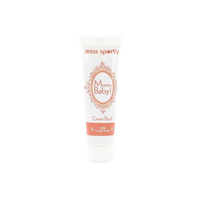 Miss Sporty Morning Baby Cream Rouge - 002 Coral Flush
