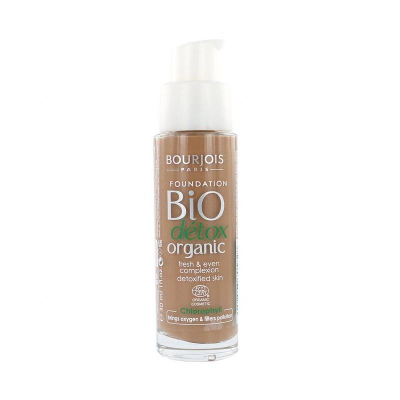 Bourjois Bio Détox Organic Foundation - 58 Dark Bronze