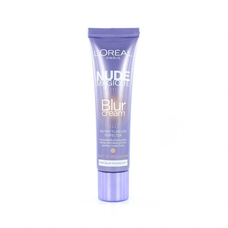 L'Oréal Nude Magique Blur Cream - Light to Medium Skin (Paarse Uitvoering)