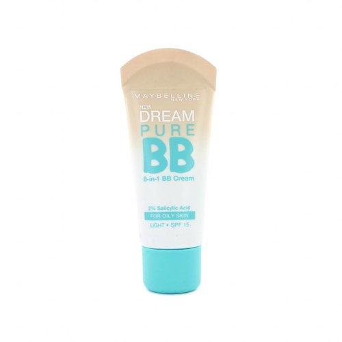 Maybelline Dream Pure 8-in-1 BB Cream - Light (Oily Skin)