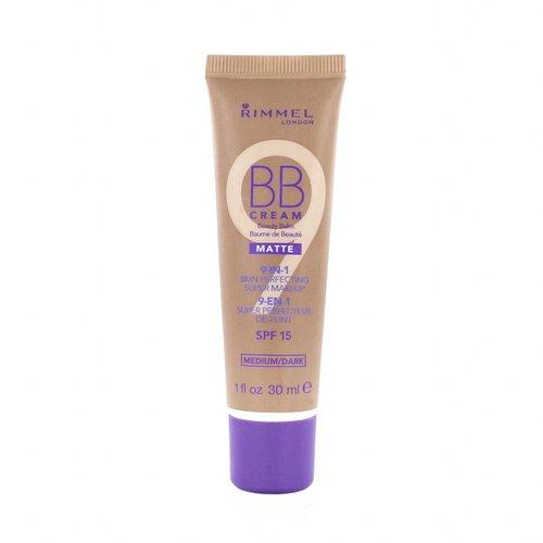 Rimmel 9-in-1 Matte Skin Perfecting Super Makeup BB Cream - Medium/Dark