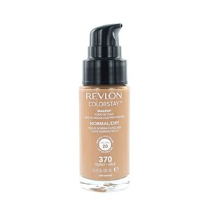 Colorstay Foundation With Pump - 370 Toast (Dry Skin)