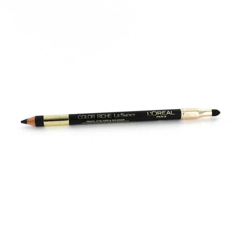 L'Oréal Color Riche Le Smoky Oogpotlood - 201 Black Velour