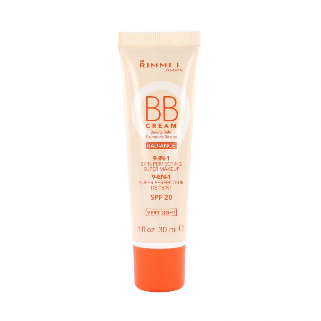 Rimmel BB Cream 9-in-1 Radiance Skin Perfecting Super Makeup - Very Light