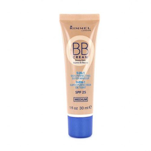 Rimmel 9-in-1 Skin Perfecting Super Makeup BB Cream - Medium