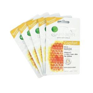 Skin Naturals Rich Mask Acacia Honey Masker - 2 x 6 ml (5 Stuks)