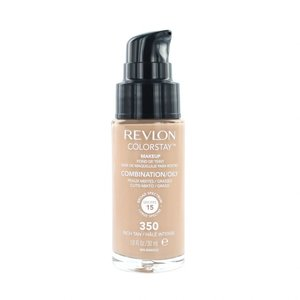 Colorstay Foundation With Pump - 350 Rich Tan (Oily Skin)