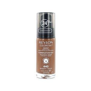 Colorstay Foundation With Pump - 440 Mahogany (Oily Skin)