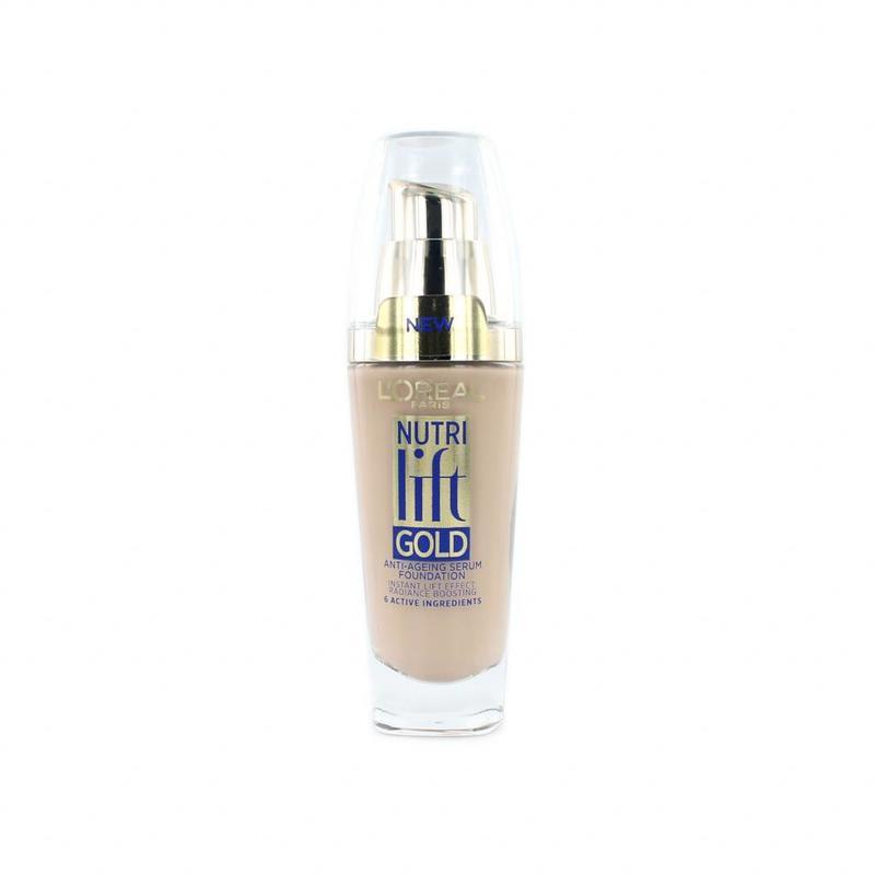 L'Oréal Nutri Lift Gold Anti-Ageing Serum Foundation - 130 Warm Ivory
