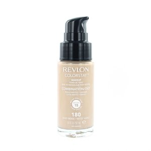 Colorstay Foundation With Pump - 180 Sand Beige (Oily Skin)