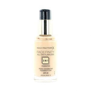 Facefinity All Day Flawless 3-in-1 Foundation - 33 Crystal Beige