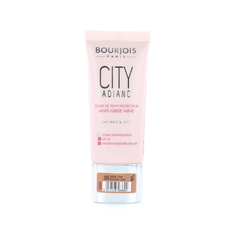 Bourjois City Radiance Skin Protecting Foundation - 06 Golden Sun