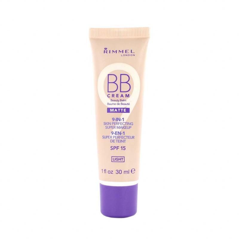 Rimmel BB Cream 9-in-1 Matte Skin Perfecting Super Makeup - Light
