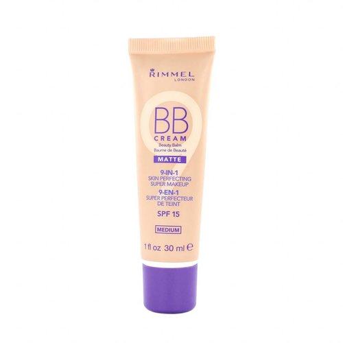Rimmel 9-in-1 Matte Skin Perfecting Super Makeup BB Cream - Medium