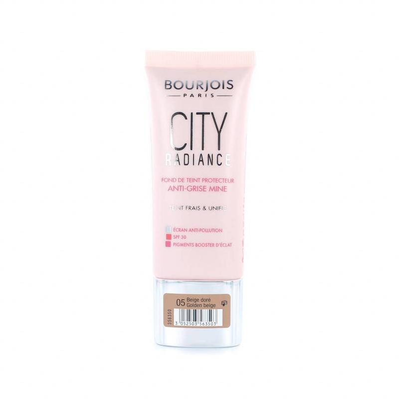 Bourjois City Radiance Skin Protecting Foundation - 05 Golden Beige