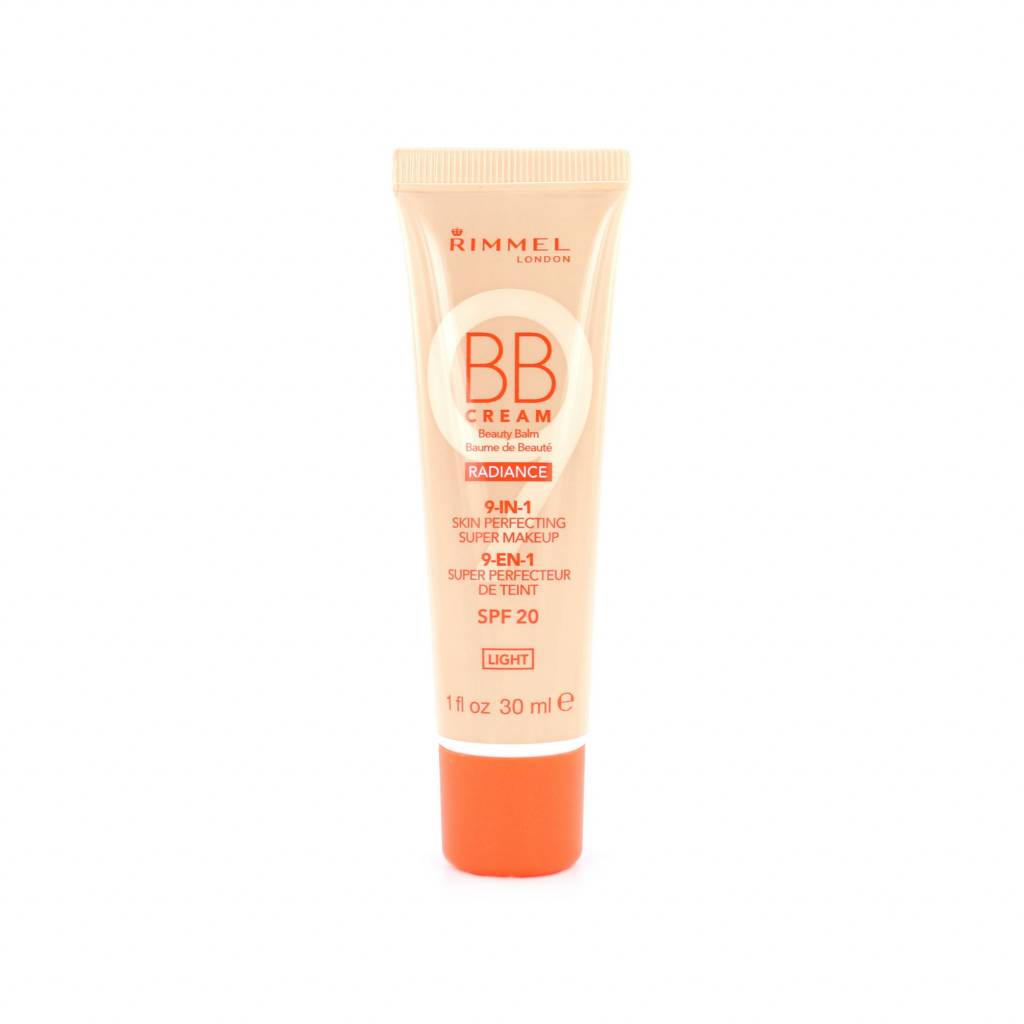 Rimmel Radiance BB Cream 9-in-1 Skin Perfecting Super Makeup - Light