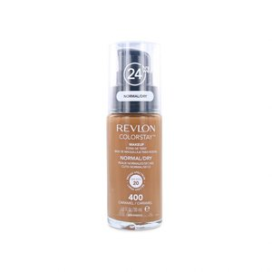 Colorstay Foundation With Pump - 400 Caramel (Dry Skin)
