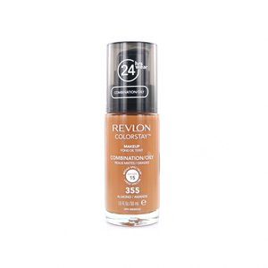 Colorstay Foundation With Pump - 355 Almond (Oily Skin)