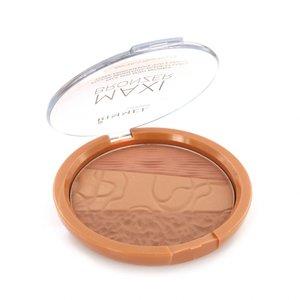 Maxi Bronzer Face and Body Bronzing Poeder - 002 Medium