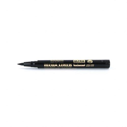 Bourjois Mega Liner Felt-Tip Eyeliner - 02 Ultra Black