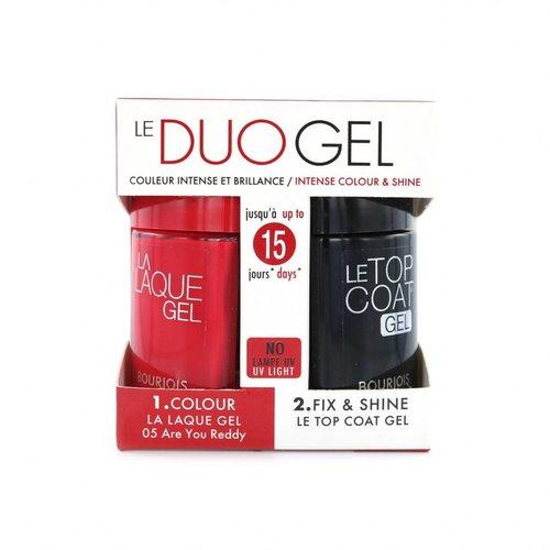 Bourjois Duo Gel Nagellak - 05 Are You Reddy