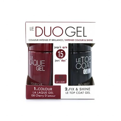 Bourjois Duo Gel Nagellak - 08 Cherry D'Amour