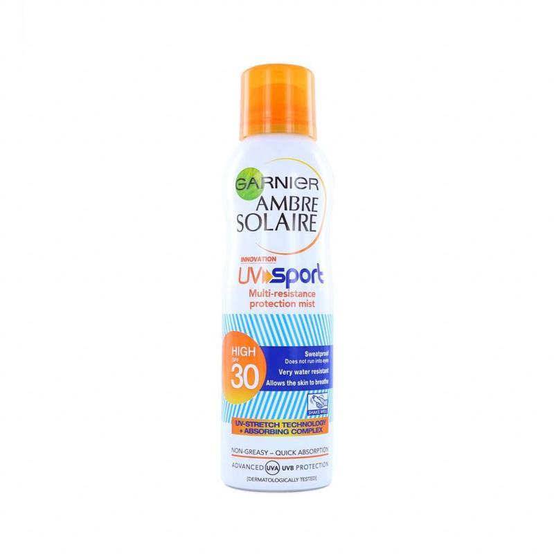 Garnier Ambre Solaire UV Sonnenschutz Sport Spray - LSF 30