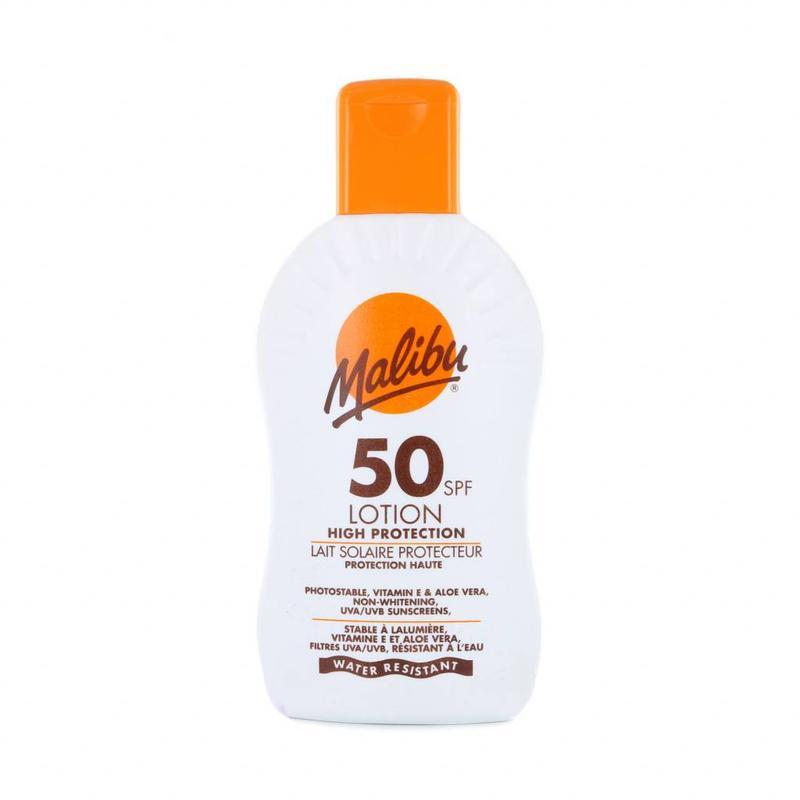 Malibu Zonnebrand Lotion SPF 50 - 200 ml