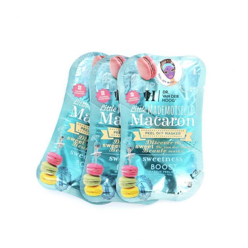 Dr. van der Hoog Little Mademoiselle Macaron Peel Off Maske - 3 Sets mit 2 Masken