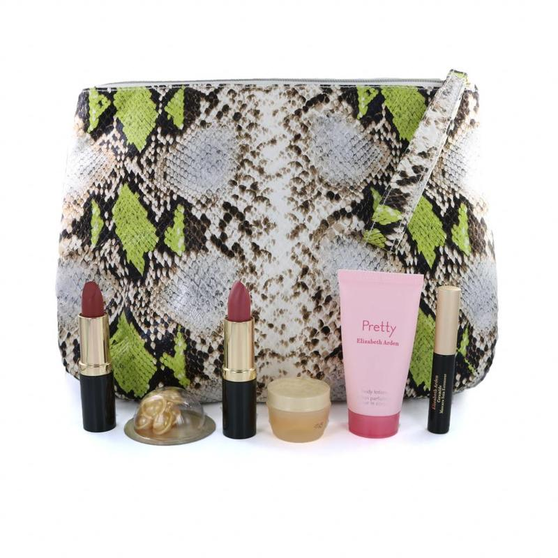 Elizabeth Arden Kosmetiktasche Mit Inhalt - #3 Grün