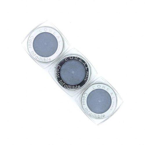 L'Oréal Color Infallible Oogschaduw - 020 Pebble Grey (3x Tester)
