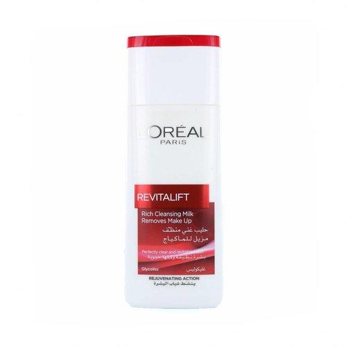 L'Oréal Revitalift Rich Cleansing Milk Make-up remover - 200 ml
