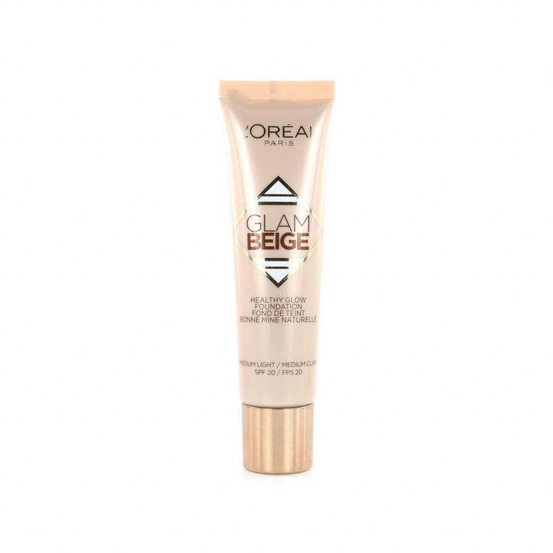 L'Oréal Glam Beige Healthy Glow Foundation - Medium Light